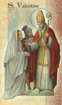 Saint of the Day - Saint Valentine of Rome