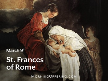Saint of the Day - Saint Frances of Rome