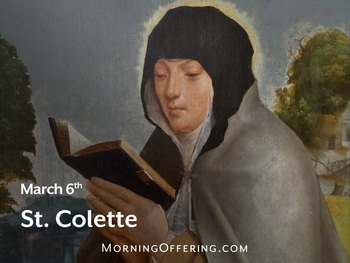 Saint of the Day - Saint Colette