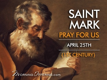 Saint of the Day - Saint Mark