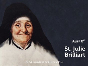 Saint of the Day - Saint Julie of Brilliart