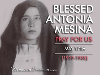 Saint of the Day - Blessed Antonia Mesina