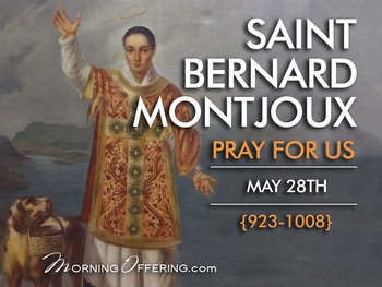 Saint of the Day - Saint Bernard of Montjoux