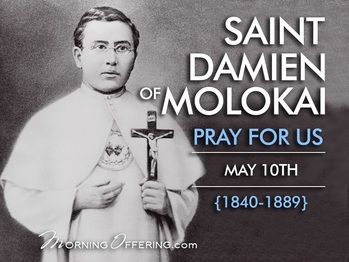Saint of the Day - Saint Damien of Molokai