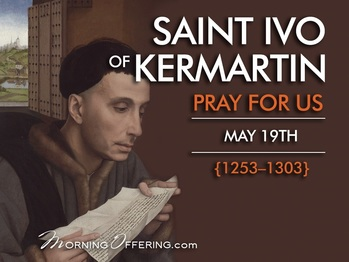 Saint of the Day - Saint Ivo of Kermartin