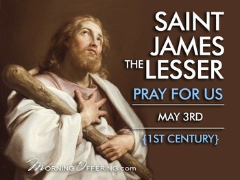 Saint of the Day - Saint James the Lesser