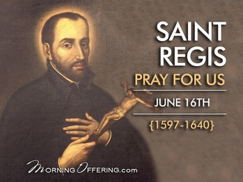 Saint of the Day - Saint Regis
