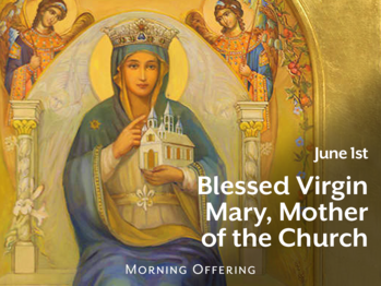 Feast Day - Blessed Virgin Mary, Mother of the Church