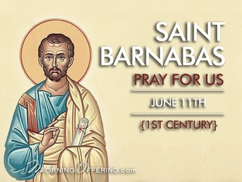 Saint of the Day - Saint Barnabas