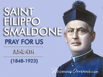 Saint of the Day - Saint Fillipo Smaldone