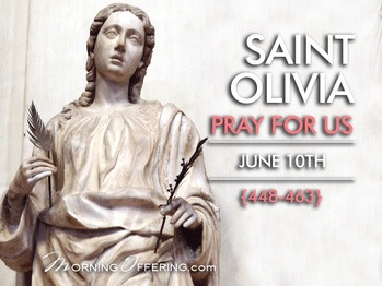 Saint of the Day - Saint Olivia of Palermo