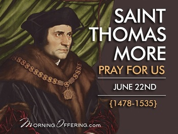 Saint of the Day - Saint Thomas More