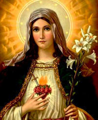 Feast Day - Memorial of the Immaculate Heart of Mary