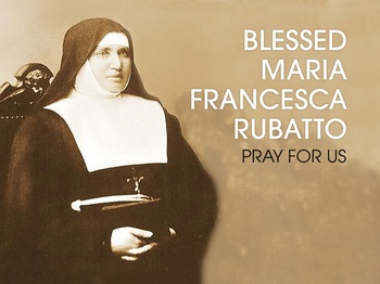 Saint of the Day - Blessed Maria Francesca of Jesus Rubatto