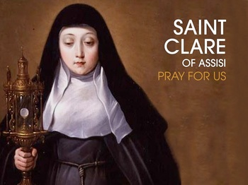 Saint of the Day - Saint Clare