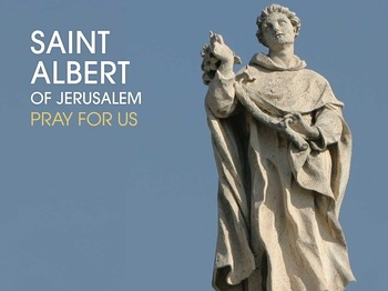 Saint of the Day - Saint Albert of Jerusalem