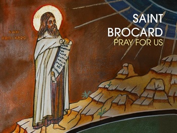 Saint of the Day - Saint Brocard