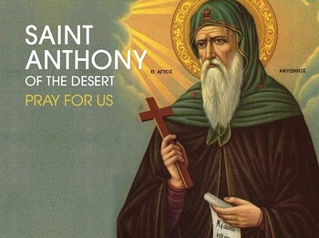 Saint of the Day - Saint Anthony of the Desert