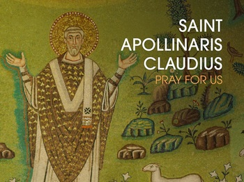 Saint of the Day - Saint Apollinaris Claudius