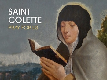 Saint of the Day - Saint Collette