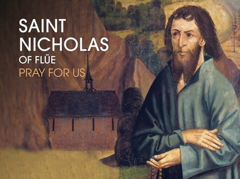 Saint of the Day - Saint Nicholas of Flue