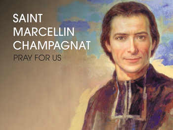 Saint of the Day - Saint Marcellin Champagnat