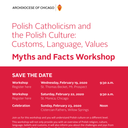 Polish Catholicism - Myths and Facts Workshop