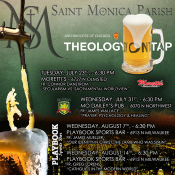 St. Monica - Theology on Tap
