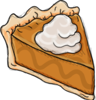 Slice of the Pie Drawings