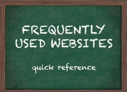 Frequently Used Websites