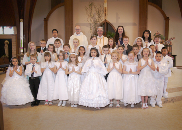 First Communion 2015 Group Picture