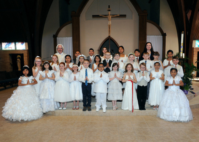 First Communion 2017 Group Picture