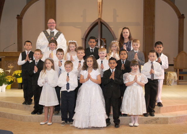 First Communion 2014 Group Picture