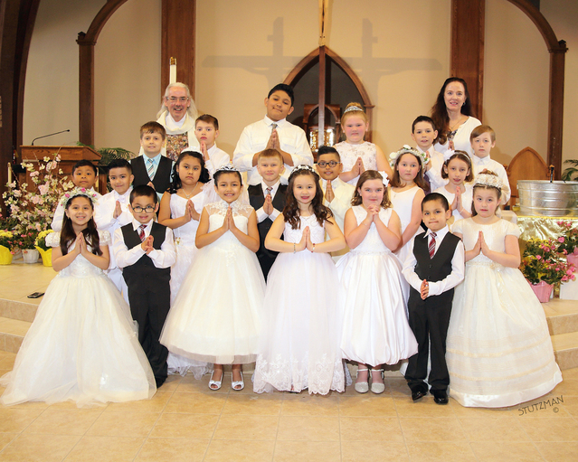 First Communion 2018 Group Picture