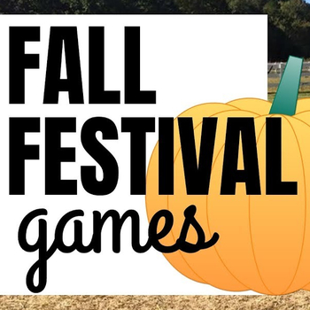 Fall Festival Cards & Games Day!