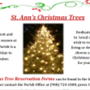 St. Ann's Christmas Trees