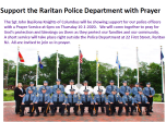 Support the Raritan Police Department with Prayer
