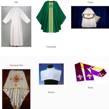 Vestments for ministers at Mass: Who wears what?
