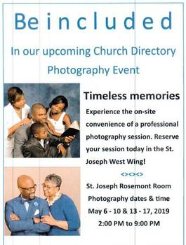 Church Directory Photo Event