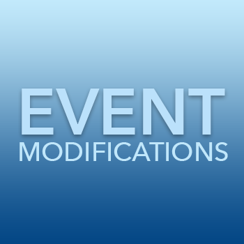 Modified Event Schedule in the TriParishes