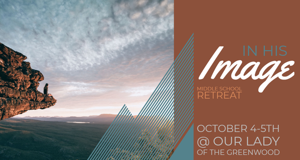 Jr. High Retreat October 4-5. More information coming soon!!