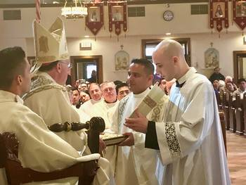 Ordination to the Diaconate - Br. John Fredy Triana Beltran, CO