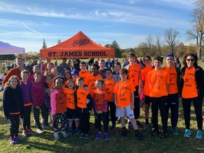Saint James School Cross County Team