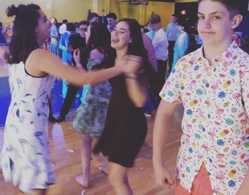 Saint Jame School hosted their annual Semi-Formal Dance