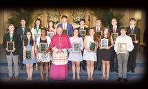 15 teens are named St. Timothy Award recipients