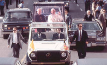 Tricentennial Thursday: New Orleans makes history: A Popemobile on Decatur Street