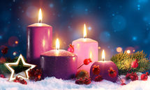 The meaning of the Advent wreath: Why three purple candles, one pink?