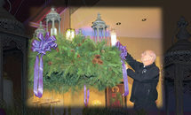 Wreath's glow grows at St. Andrew the Apostle