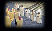 Deacons from 3 continents