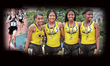 Drexel, ASH queens of the track